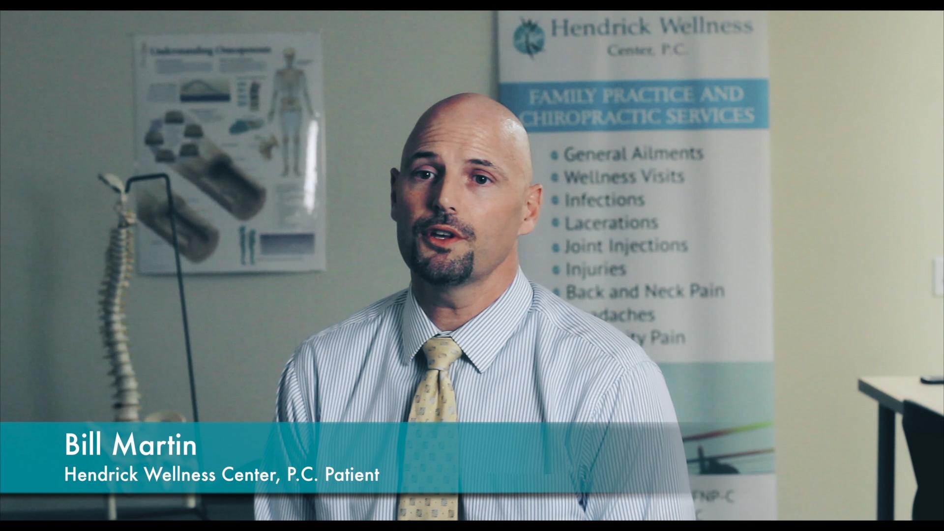 Hendrick Wellness Center, P.C. _ Testimonial _ Bill Martin (1)